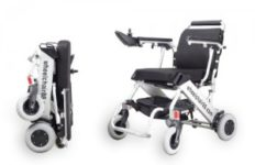 foldawheel pw999-ul lightweight powered wheelchair